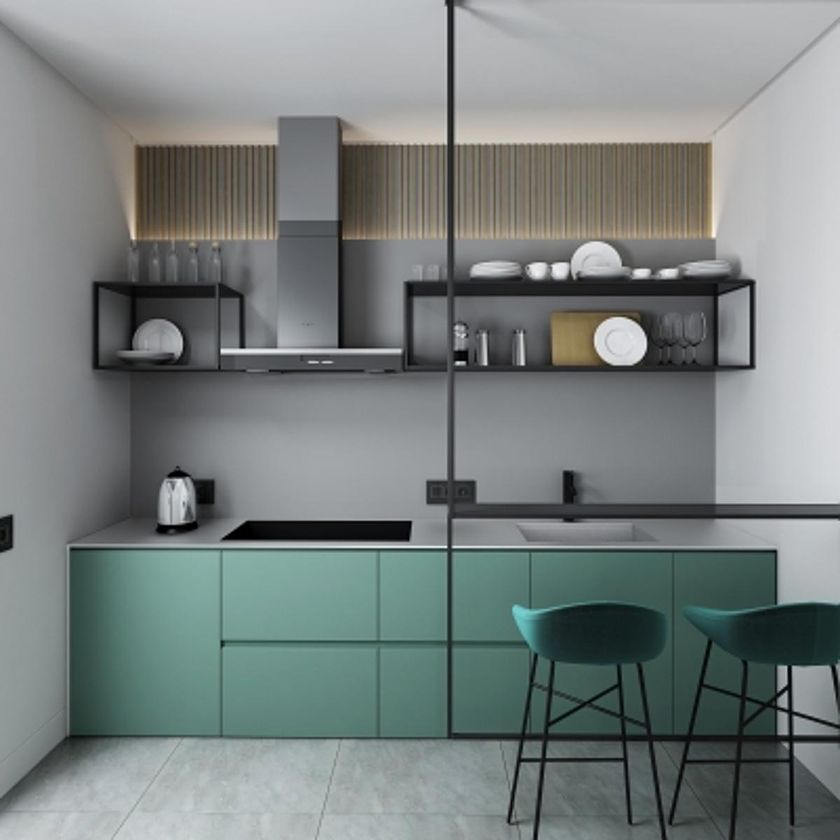 cg243北欧厨柜模型